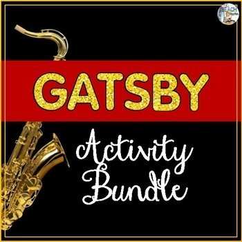 Great Gatsby Activity Bundle
