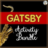 Great Gatsby Activity Bundle