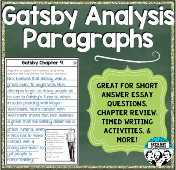Purpose Of Thesis Statement In An Essay Great Gatsby Analysis Paragraphs For Review Timed Writing And Short Essays Write My Essay Paper also Writing A Proposal Essay Great Gatsby Analysis Paragraphs For Review Timed Writing And Short Essays Thesis Statement Persuasive Essay