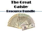 Great Gatsby Bundle: Blog, Gallery Walk, & Thematic Chart for Literary Analysis