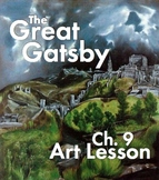 """GREAT GATSBY, Ch. 9  – """"Read"""" the Art that Inspired Nick C"""