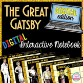 The Great Gatsby DIGITAL Unit - High School ELA