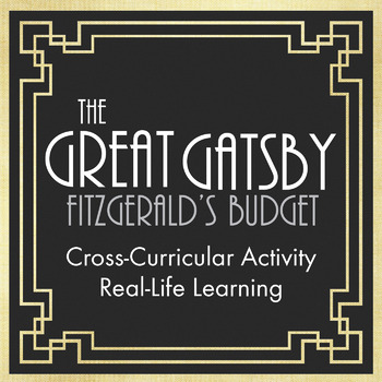 Great Gatsby Jazz Age Lifestyle Lesson – Easy & Fun Full-Class Period Activity