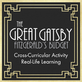 Great Gatsby Fitzgerald Jazz Age Lifestyle Lesson Cross-Curricular Math Activity
