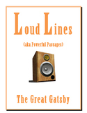 Great Gatsby LOUD LINES