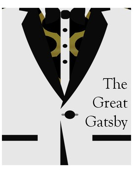 Great Gatsby Minimalist Poster