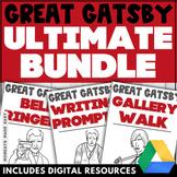 Great Gatsby NOVEL STUDY UNIT Mini-Lessons, Digital Worksh