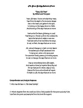 gatsby poem