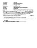 Great Gatsby Vocabulary Quiz #4