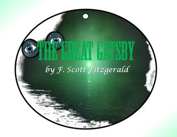 Great Gatsby by F. Scott Fitzgerald Circle Graphic Organizer Activity