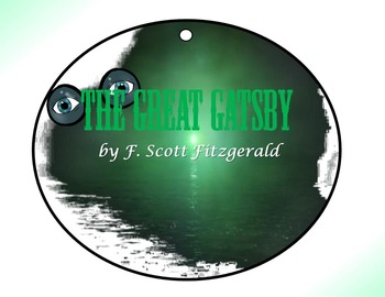Great Gatsby by F. Scott Fitzgerald Circle Graphic Organizer Activity