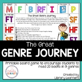 Great Genre Journey Reading Game