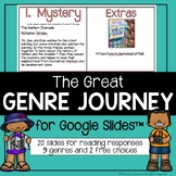 Great Genre Journey Reading Game for Google Slides