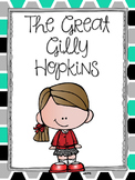 Great Gilly Hopkins Literature Guide, Comprehension Questions