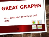 Great Graphs and Charts - or What do I do with all this data?