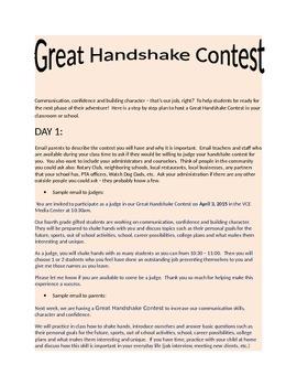 Great Handshake Contest