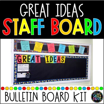 Great Ideas Bulletin Board Display