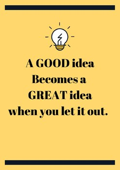 Great Ideas Poster