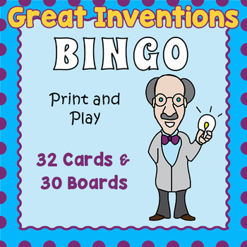 Great Inventions Bingo Game