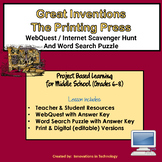 Great Inventions - The Printing Press | Distance Learning