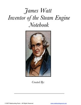 Inventors Notebooking Pages