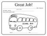 Great Job Certificate