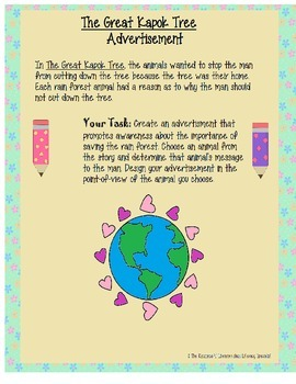 Earth Day Writing Unit
