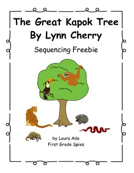 Great Kapok Tree Sequencing Freebie By Laura Ado Tpt