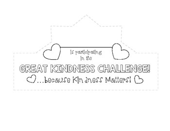 Great Kindness Challenge *Crowns*