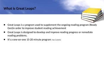 Great Leaps Professional Development