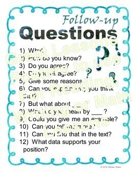 Great Lesson Posters - Check For Understanding and More
