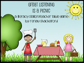 Great Listening is a Picnic- Improve listening skills with this fun game!