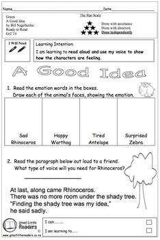Great Little Readers - A Good Idea