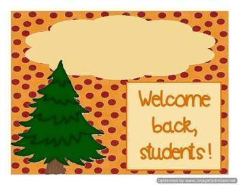 Great Outdoors Classroom Decor Bundle