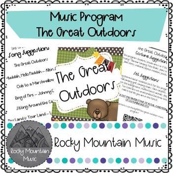 Great Outdoors Music Program