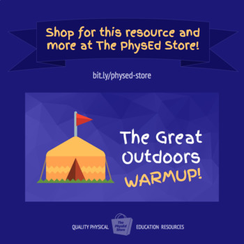 Great Outdoors Warmup | Physical Education Exercise