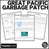 Great Pacific Garbage Patch - Ocean Pollution unit