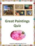 Great Paintings Quiz