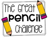 Great Pencil Challenge Poster