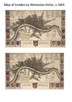 Great Plague of London 1665-6 Word Search