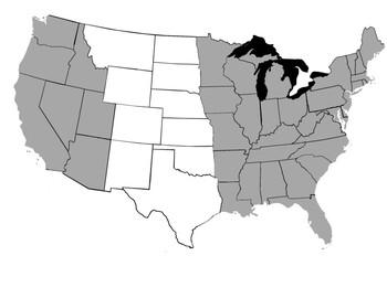 Great Plain states landscape mode