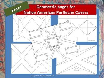Great Plains Indians Parfleche Templates: FREEBIE!