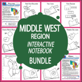 The Middle West Region Bundle + AUDIO–Great Lakes States & Great Plains States