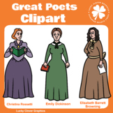 Great Poets Clipart