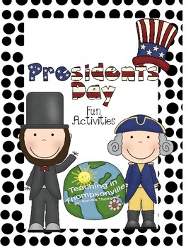 Great Presidents' Day Activities