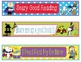 Great Pumpkin Charlie Brown Halloween Bookmarks Name Plates EDITABLE