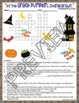 Great Pumpkin Charlie Brown Halloween Crossword and Word Search Find Activities