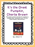 Great Pumpkin Charlie Brown: Movie Activity