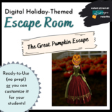 Great Pumpkin Escape Room (Ready-to-Play AND Customizable