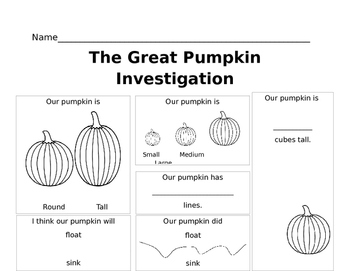 Great Pumpkin Investigation